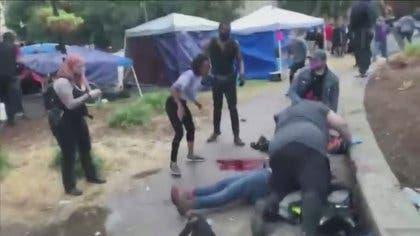 Se registra un tiroteo en mitin antirracista 'Black Live Matter' en EU.
