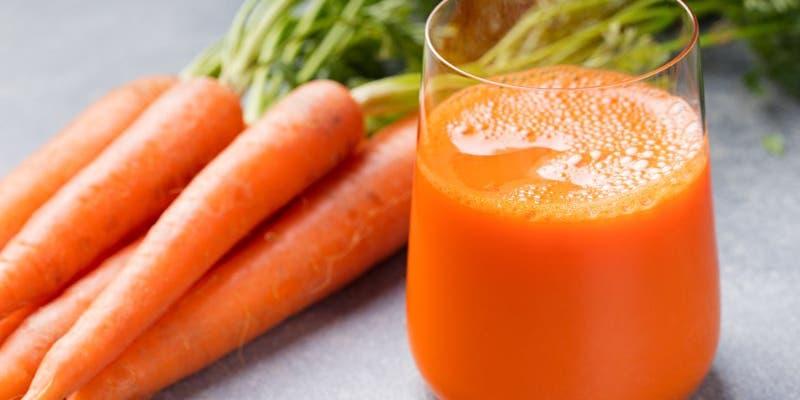 Jugo de zanahoria con miel para adelgazar en esta cuarentena