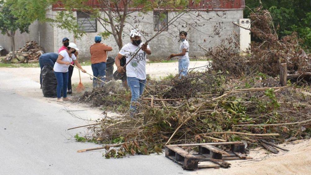 Arranca Programa de Empleo Temporal para mejorar la imagen de Tulum