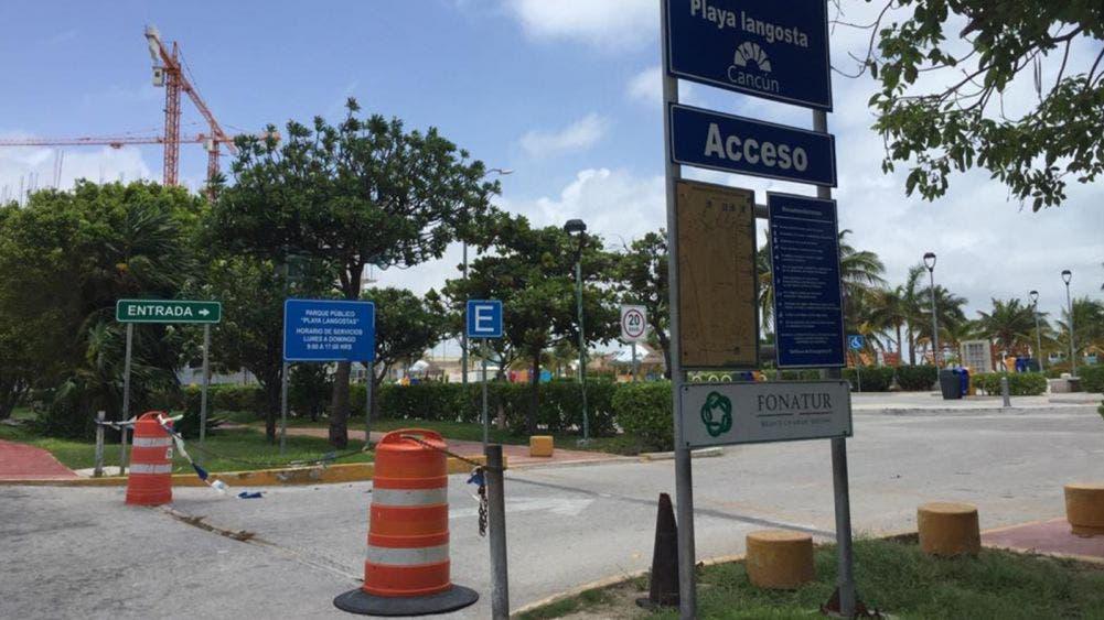 Hunde a náuticos cierre de playas en Isla Mujeres