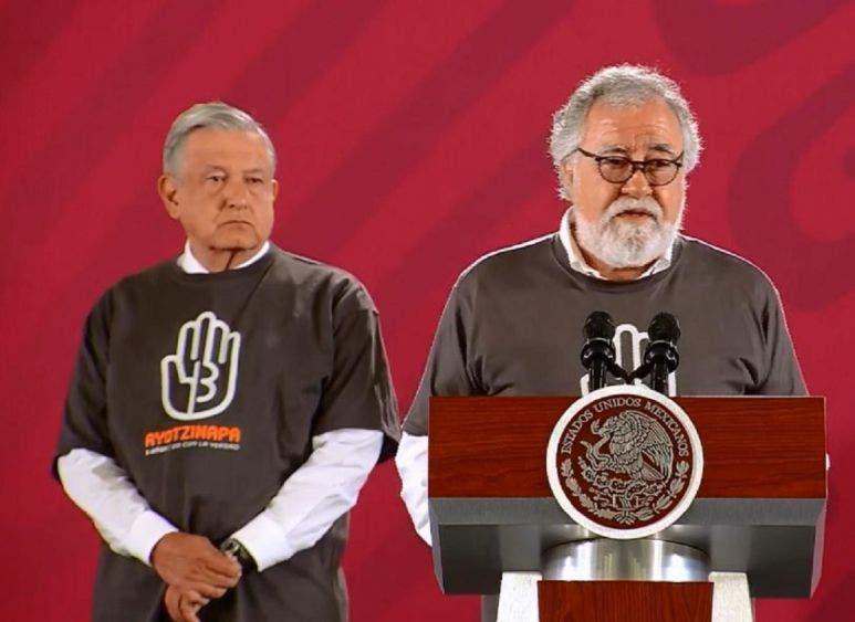 Uno de los principales compromisos de la actual administración de López Obrador comienza a tomar forma y hoy ya es una más brillante luz de esperanza para los padres de los 43.