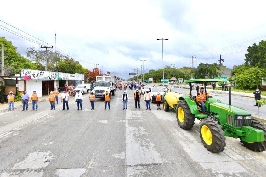 Participan más de 200 brigadistas de diferentes direcciones municipales.
