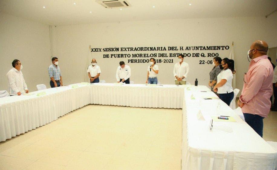 La Presidenta Municipal encabeza la XXIX Sesión Extraordinaria de Cabildo en la que se aprueba la modificación del PIA 2020