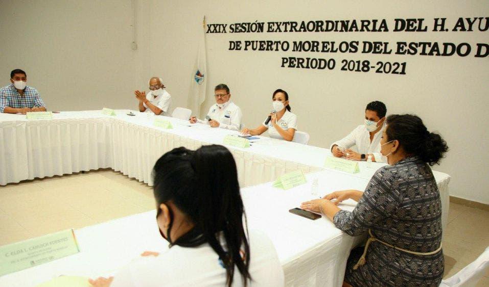 Se contemplan obras por un monto de alrededor de 50 millones de pesos para seguir transformando la imagen de Puerto Morelos y mejorar la calidad de vida de la gente