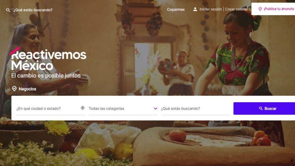 """Presentan plataforma """"Reactivemos México"""""""