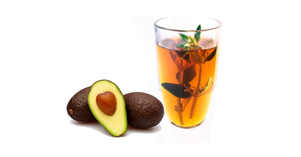 Elimina lombrices y parásitos con té de hojas de aguacate