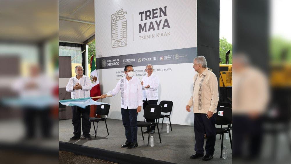 El tren maya representa integración económica, desarrollo y equidad social: Carlos Joaquín