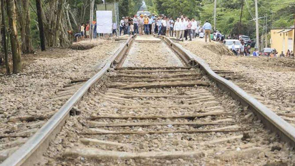 Obras del Tren Maya son para empresas locales