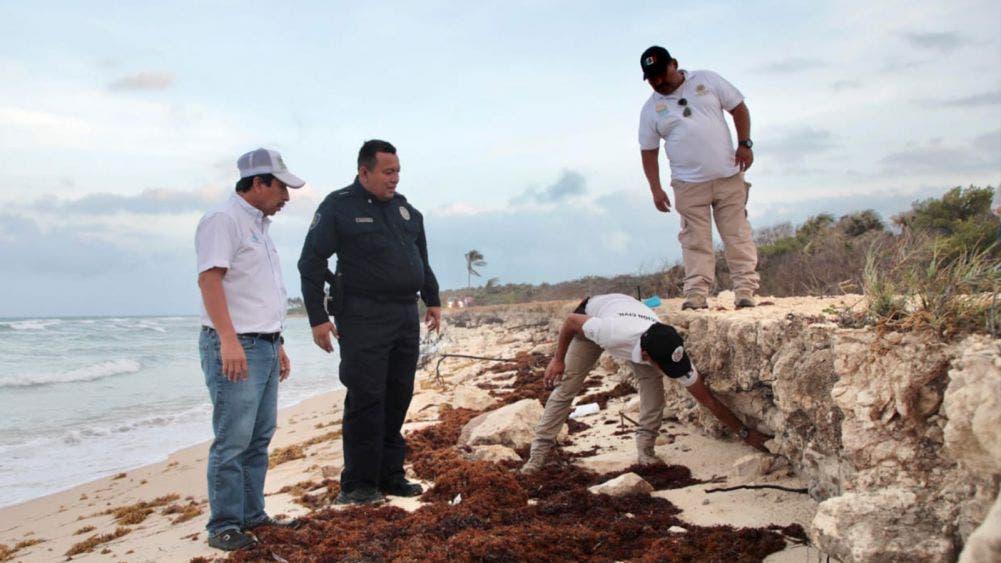 Se reparará el tramo carretero Tulum-Punta Allen afectado por las lluvias: Víctor Mas
