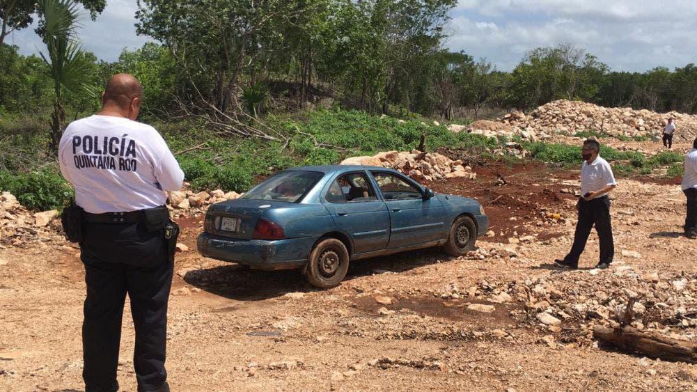 Roban con violencia una tienda en Felipe Carrillo Puerto; los delincuentes abandonaron el vehículo en el cual huyeron.