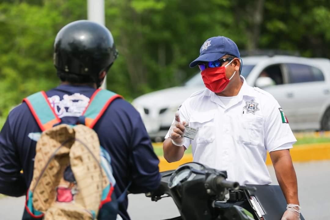Disminuye una hora el toque de queda en Cozumel; la isla se mantiene en naranja en cuanto al semáforo epidemiológico.