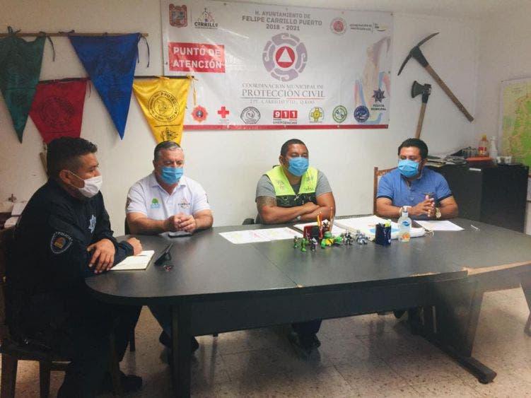 Se preparan autoridades de FCP ante la actual temporada de huracanes; instalan el Comité Municipal Operativo.
