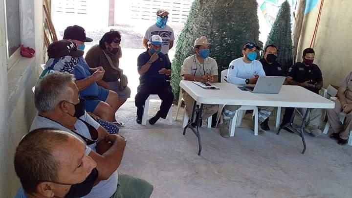 Integran Subcomité de Protección Civil en isla Holbox.