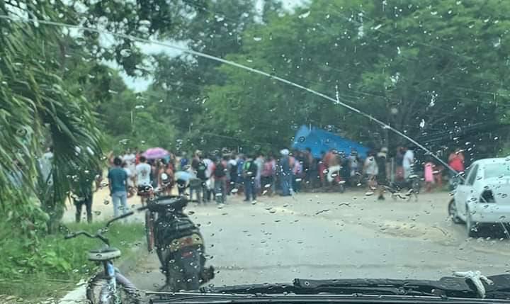 Pudientes de Playa y Cancún invaden terreno cerca de Akumal.