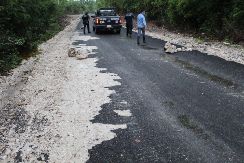 Se desliga la Comuna de JMM de carretera rural 'patito'.