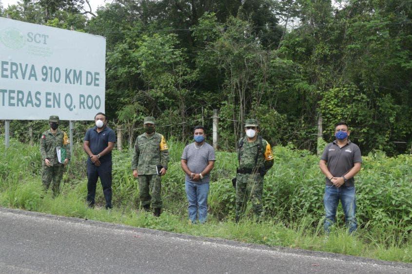 Oficializan entrega de predio a la Guardia Nacional en Felipe Carrillo Puerto.