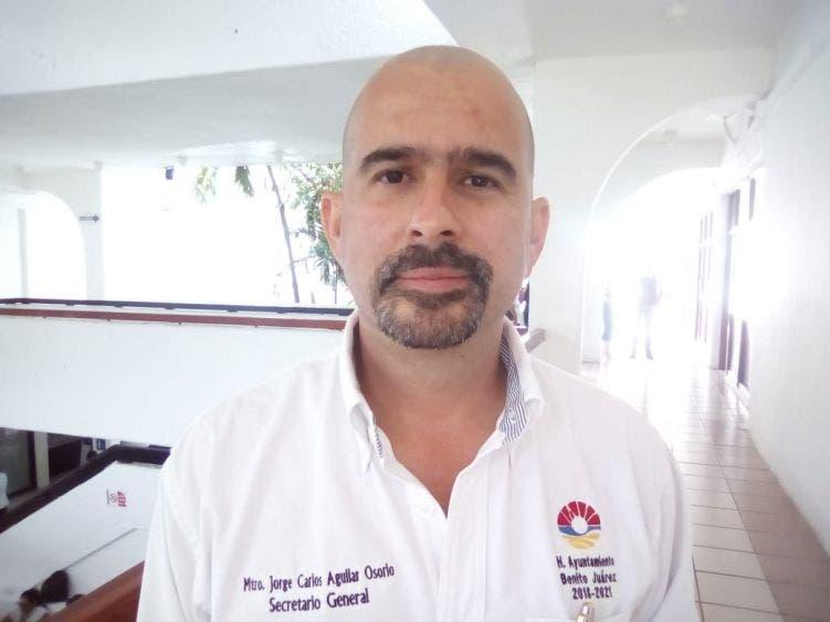 Aguilar Osorio sería coordinador de asesores municipales en BJ.