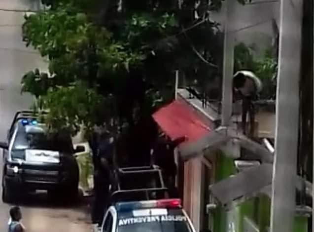 Movilización policiaca por faltas a la moral en José María Morelos.
