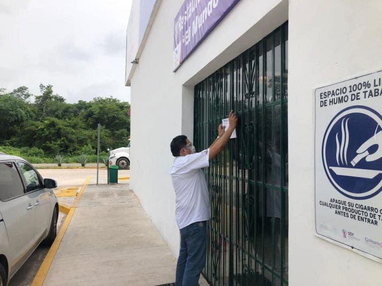 Clausuran 37 negocios en Yucatán por no cumplir con medidas sanitarias ante Covid-19