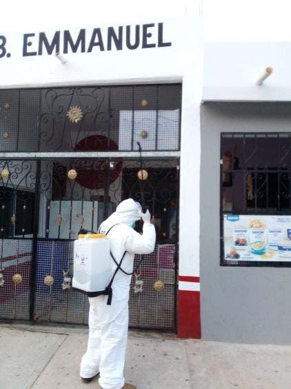 El gobierno municipal mantiene vigentes las jornadas de sanitización en más de 250 negocios, informa la alcaldesa