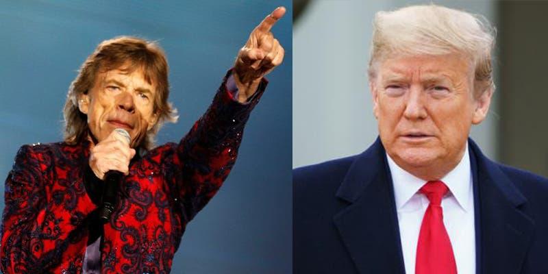Los Rolling Stones podrían demandar a Donald Trump por esta razón