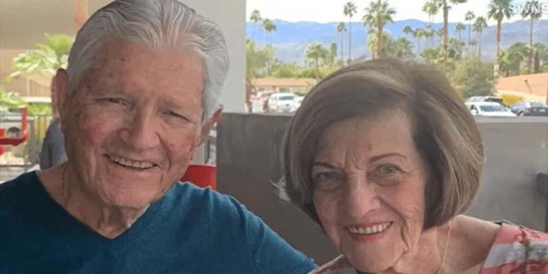 Abuelitos de casi 90 años se encuentran en internet y se vuelven pareja
