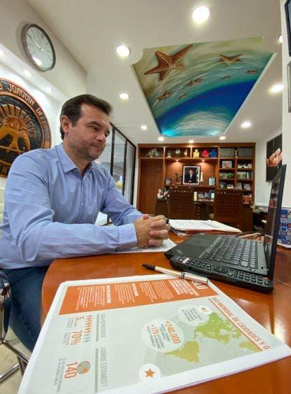 · En una conferencia virtual, como parte de la Conferencia de las Naciones Unidas sobre los Océanos 2020, el Presidente Municipal destaca que esa estrategia está ligada con la protección de los mares y recursos naturales ante la pandemia de Covid-19