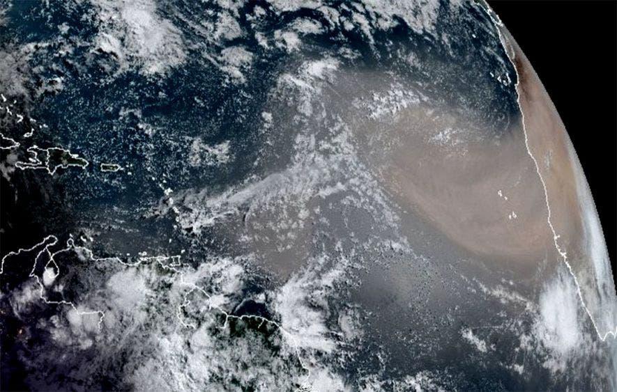 Polvo del Sahara seguirá llegando a México todos los años
