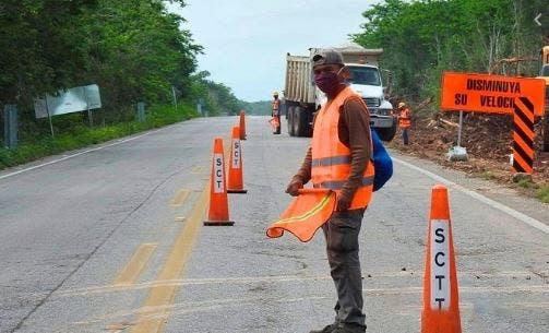 Inician los trabajos de 12 km de ampliación en la Carretera Mérida-Chetumal