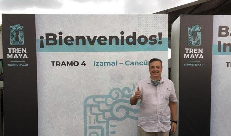 Apoya Luis Alegre convocatoria de FONATUR para trabajar en el Tren Maya