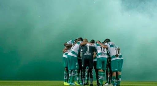 Dan de alta a jugadores de Santos tras recuperarse de covid-19