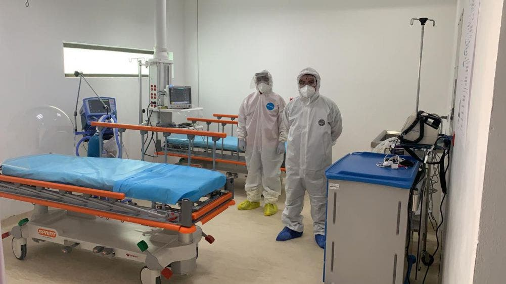 Se dispara ocupación hospitalaria por Covid-19 en Bacalar.
