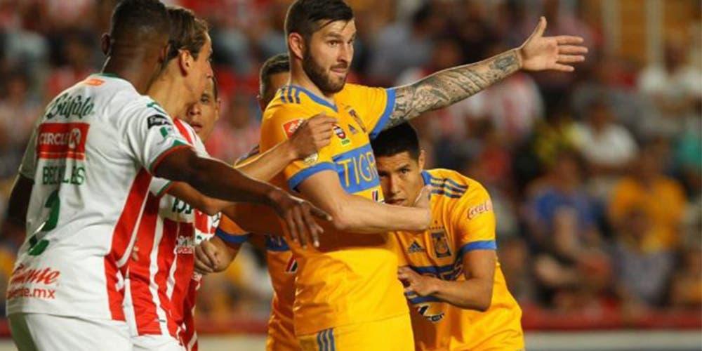 Liga MX: Necaxa vs Tigres (horario y transmisión)