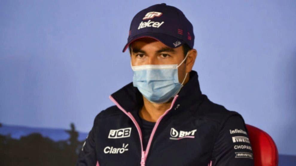 Sergio Pérez estará en aislamiento tras resultado dudoso
