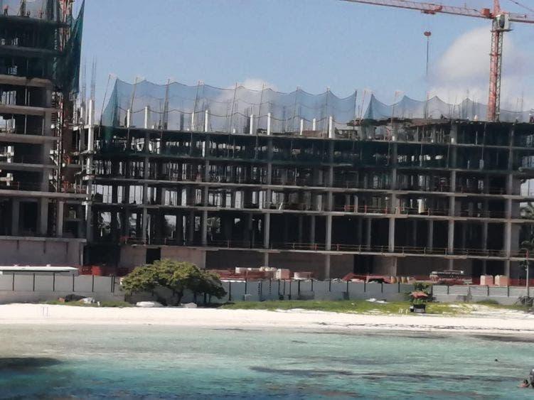 Crece a paso lento el sector de la construcción.