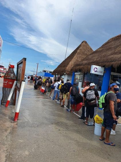 Ocupación turística en Holbox podría llegar al 40 %.