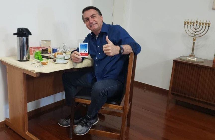 Jair Bolsonaro anunció que ya no tiene coronavirus