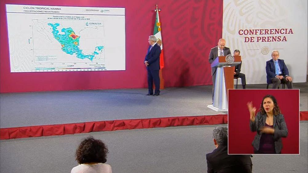 Conferencia matutina del Presidente Andrés Manuel López Obrador.