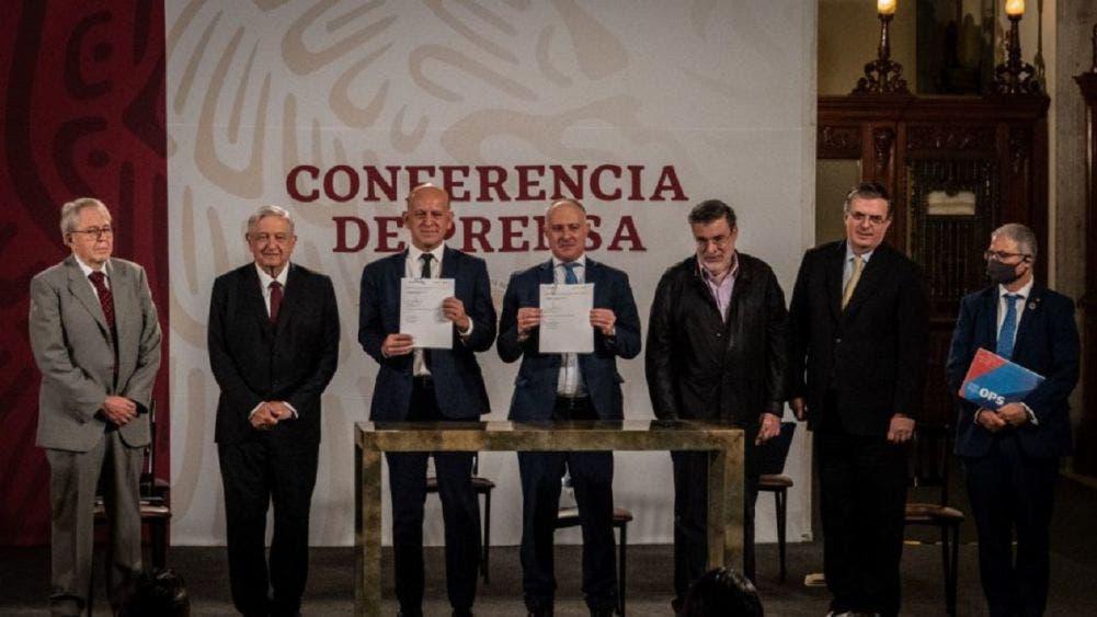 Histórico acuerdo entre México y ONU, licitarán compra de vacunas