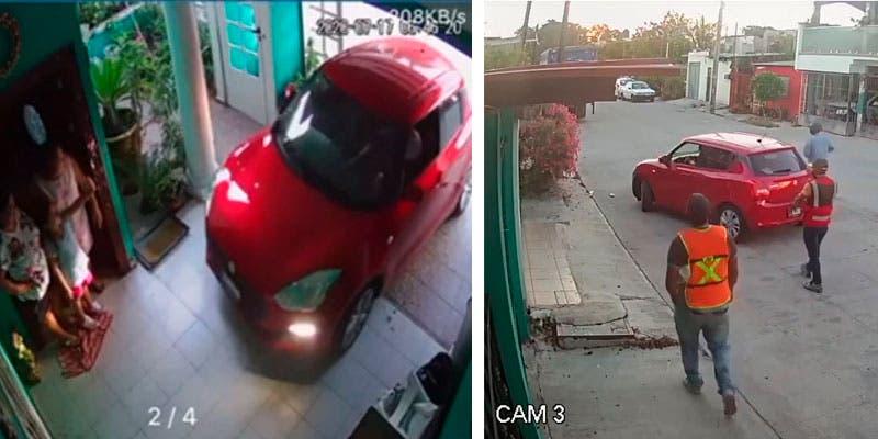 Recuperan vehículo robado con violencia a familia en la Región 103.
