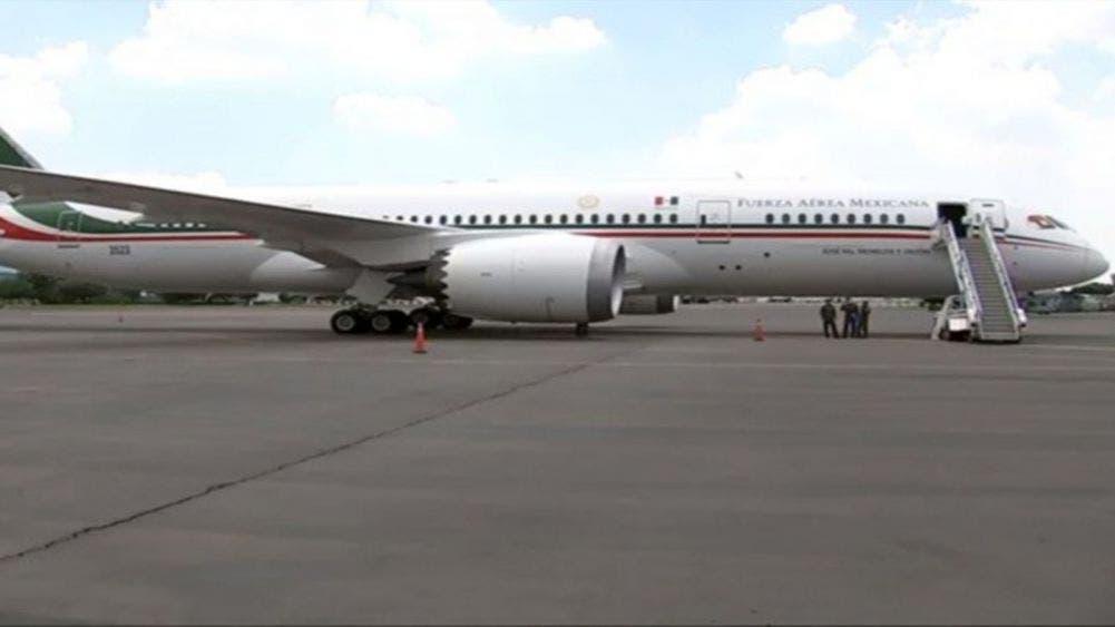 Aterriza en México el avión presidencia tras 19 meses de estar en EU