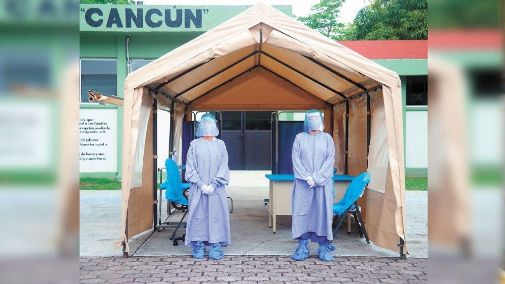 64 Batallón de Cancún recibirá pacientes no graves de Covid 19