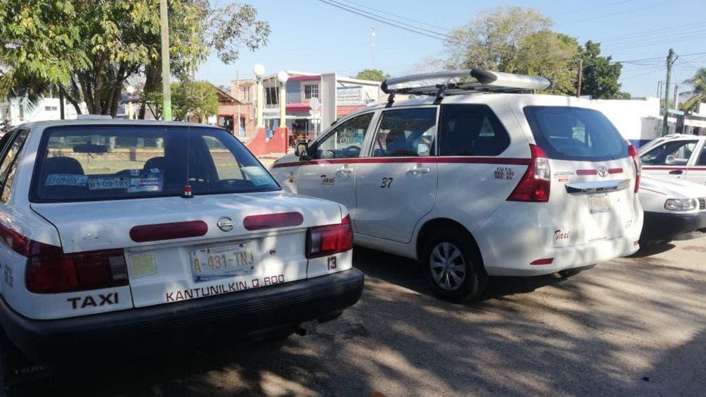 Proponen a líder taxista de Tizimín como interlocutor en bloqueo