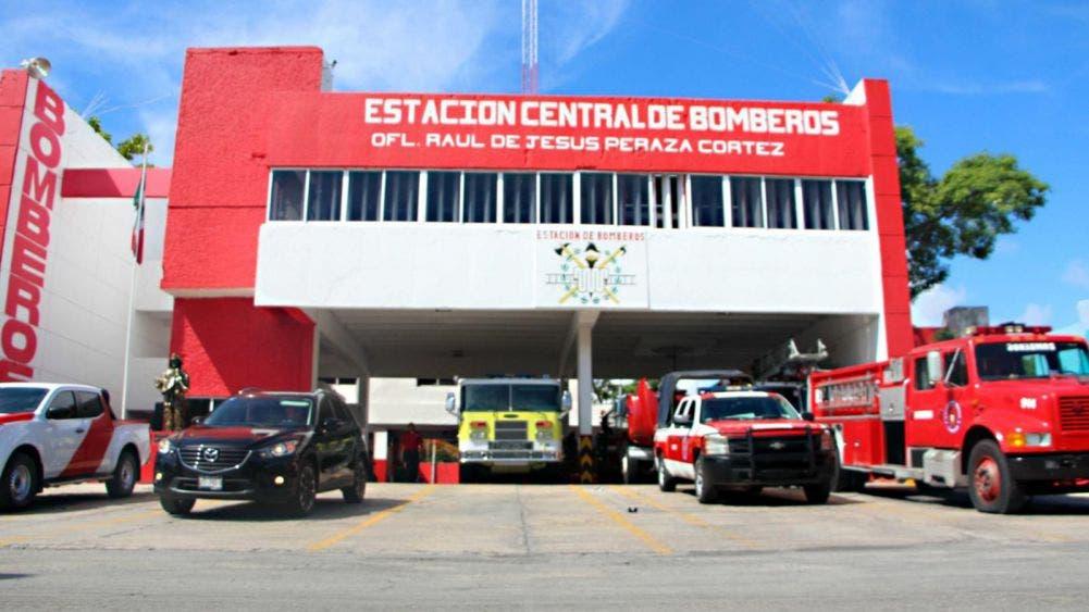 """""""Incendia"""" brote de covid-19 al cuerpo de bomberos de Cancún"""