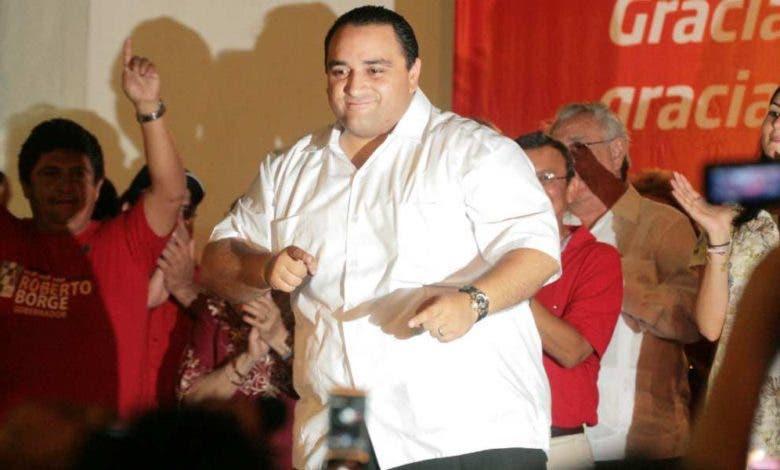 Roberto Borge Angulo, exgobernador de Quintana Roo, en su momento de gloria.