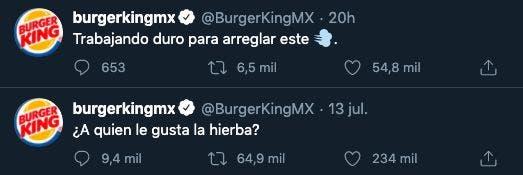 Burger King: ¿A quién le gusta la hierba? Fuerte polémica en Twitter