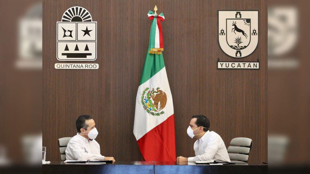 Unen esfuerzos Carlos Joaquín y Mauricio Vila en pro de la recuperación económica