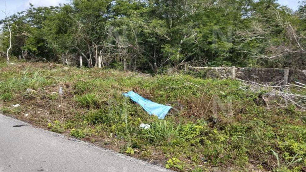 Atropellan y matan a ciclista en la carretera Mérida-Tizimín