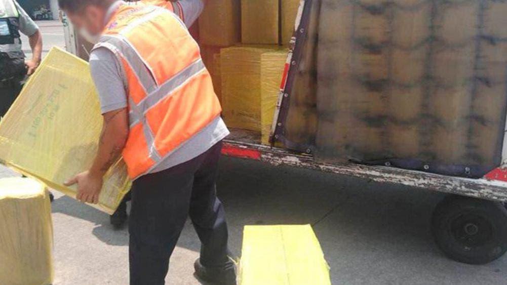Guardia Nacional decomisa 111 cajas de cigarro de aparente procedencia ilícita