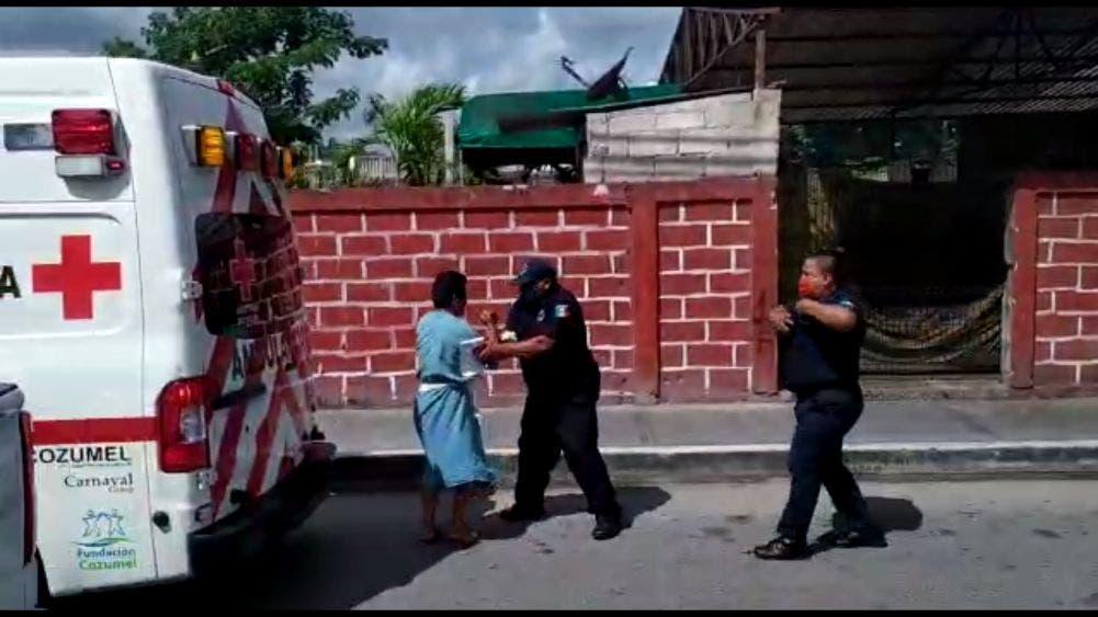 Video: Paciente de Hospital General de Cozumel se fuga